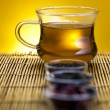Green tea cup — Stock Photo