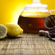Lemon tea — Stock Photo