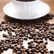 Coffee grunge background — Foto de Stock