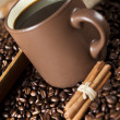Cinnamon and Coffee — Stock Photo #7418906