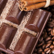 Cinnamon and Coffee — Stock Photo #7419314