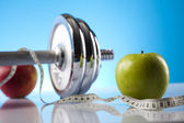 Sport and fitness supplement — Stock Photo