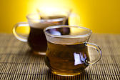 Tea background — Stock Photo