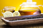 Lemon tea — Stock Photo