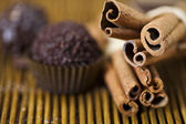 Cinnamon and Chocolate — Stock Photo