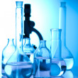Beakers — Stock Photo