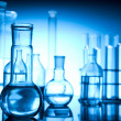 Chemistry equipment, laboratory glassware - Foto Stock