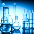 Chemistry equipment, laboratory glassware - Zdjcie stockowe