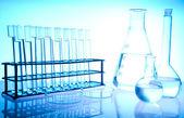 стекло в лаборатории — Стоковое фото
