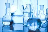 лабораторное стекло — Стоковое фото