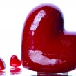Red heart — Stock Photo #7431824