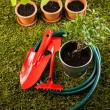 Garden tools concept — Stock Photo