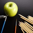 Apple, School Concept — Stock Photo