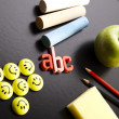 Apple, School Concept — Stock Photo #7456950