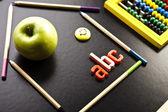 Education Concept,School, abc — Stock Photo