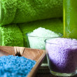 Spa and body care composition — Stock Photo #7460181