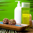 Spa and body care composition — Stock Photo #7461718