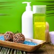 Spa and body care composition — Stock Photo #7461753