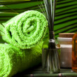 Spa still life with zen — Stock Photo