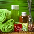 Spa still life with zen — Stockfoto