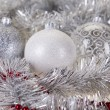 Christmas Tree Baubles - Stock Photo
