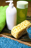 Spa and body care composition — Stock Photo
