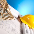 House blueprint — Stock Photo