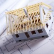 Building plans — Stock Photo