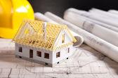 House blueprint — Stock Photo