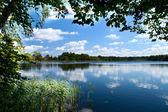 Platteland lake — Stockfoto