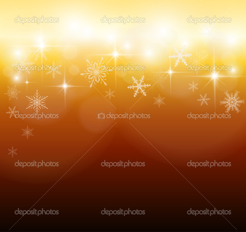 Elegant christmas background with snowflakes, vector. — Stock Vector #6847296