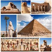 Kolekcja egipt — Zdjęcie stockowe