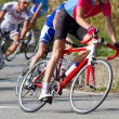 Stock Photo: Racing cyclist