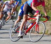 Racing cyclist — Stock Photo