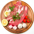 Meat, raw beef — Stock Photo #6905400