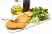 Peixe frito — Foto Stock