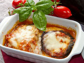 Aubergine parmesan — Photo