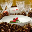 Christmas table — Stock Photo #7313314