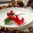 Christmas table — Stock Photo #7313443