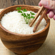 Uncooked rice — Stockfoto