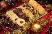 Christmas biscuits — Stockfoto