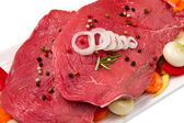 Veal fillet — Stock Photo