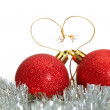 Christmas decoration ball — Stock Photo