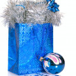 Stockfoto: Christmas gift bag