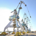 Port-Krane — Stockfoto