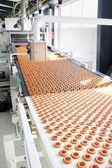 Cookie di produzione in fabbrica — Foto Stock