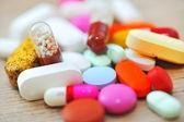 Assorted pills — Stock Photo