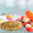 Daily pills — Stock Photo #7101357