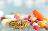 Daily pills — Foto Stock
