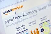 Amazon advertise — Stock Photo